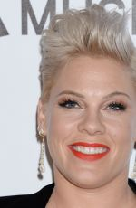 Pink At MusiCares Person of the Year honoring Dolly Parton at Los Angeles Convention Center in Los Angeles