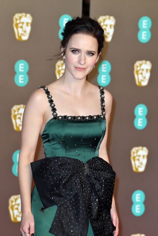 Rachel Brosnahan At EE British Academy Film Awards in London