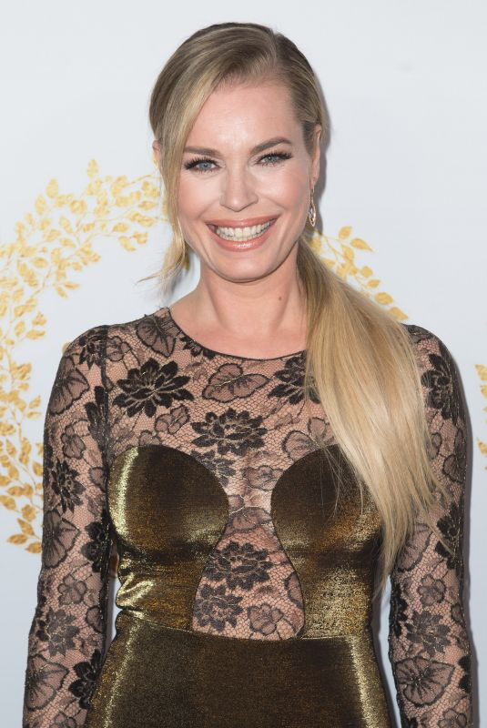 Rebecca Romijn At 2019 Hallmark Channel Winter TCA Press Tour party