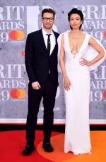 Renee Puente At The BRIT Awards 2019 held at The O2 Arena in London