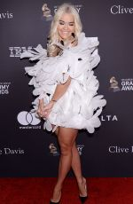 Rita Ora At The Recording Academy And Clive Davis 2019 Pre-GRAMMY Gala in Beverly Hills