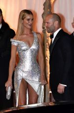 Rita Ora, Rosie Huntington-Whiteley and Jason Statham leaving the Vanity Fair party for the OSCAR 2019 awards in Los Angeles