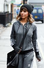 Roxanne Pallett Seen in Manchester