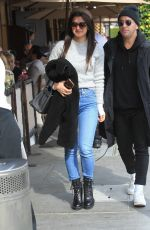 Roxy Sowlaty Grabs lunch with a friend in Beverly Hills