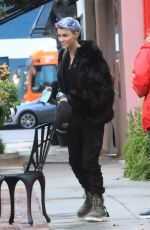 Ruby Rose Out in West Hollywood
