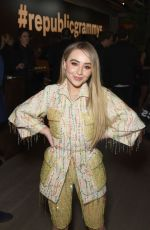 Sabrina Carpenter At Republic Grammys After Party in LA