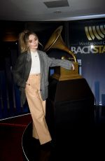 Sabrina Carpenter At Westwood One Radio Roundtables for the 61st Annual GRAMMY Awards in LA