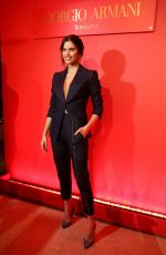 Sara Sampaio At Variety x Armani Makeup Artistry Dinner in Los Angeles