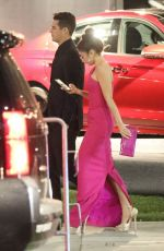 Sarah Hyland Looks pretty in pink outside of Elton John