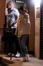 Selena Gomez Exiting a music studio in LA