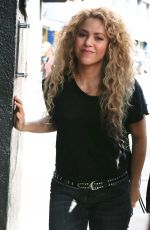 Shakira Out in Barcelona