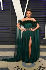 Shay Mitchell At Vanity Fair Oscar Party in Los Angeles