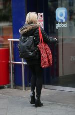 Sian Welby Outside Global Radio in London