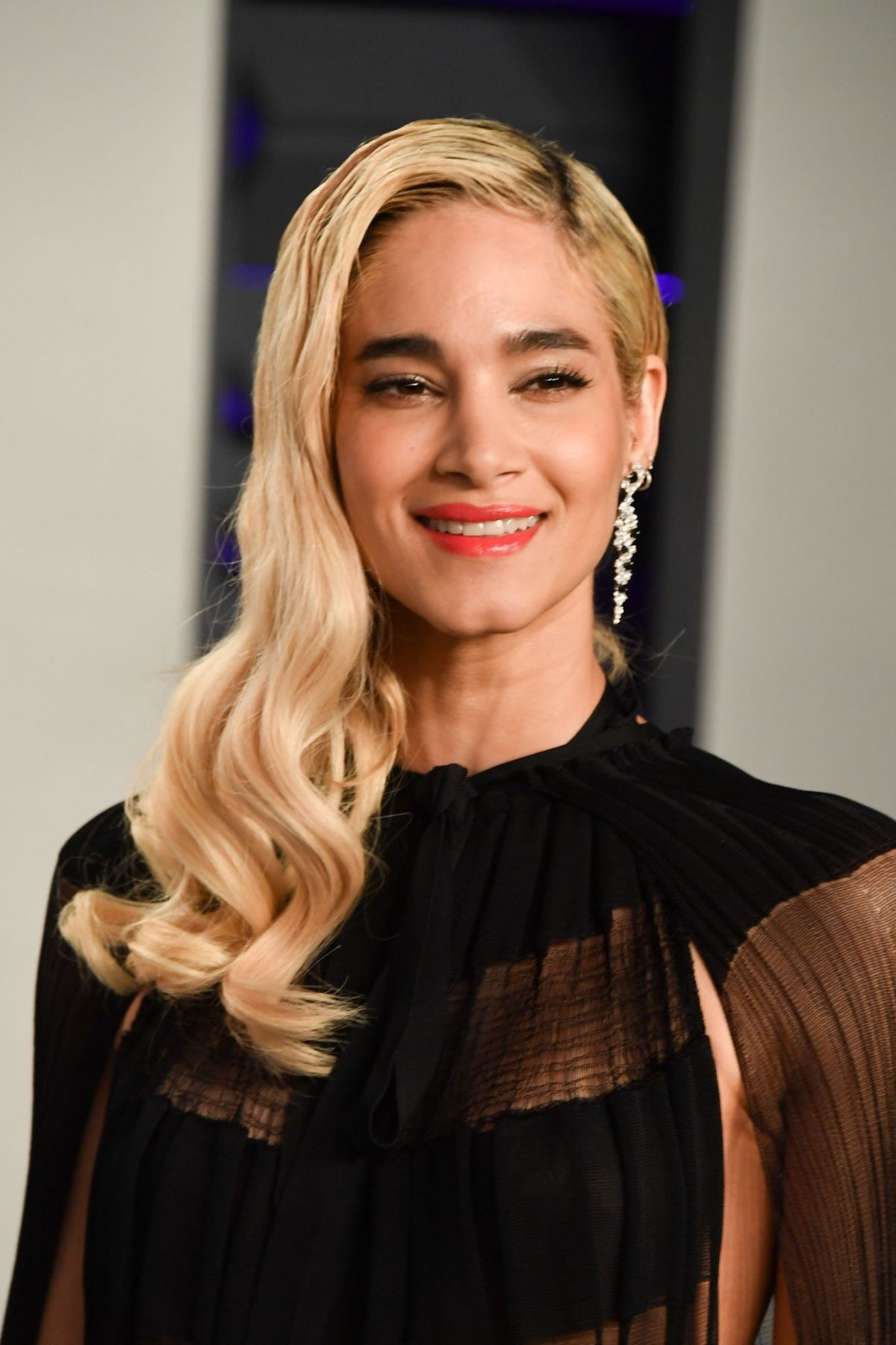Sofia Boutella At 2019 Vanity Fair Oscar Party Hosted By