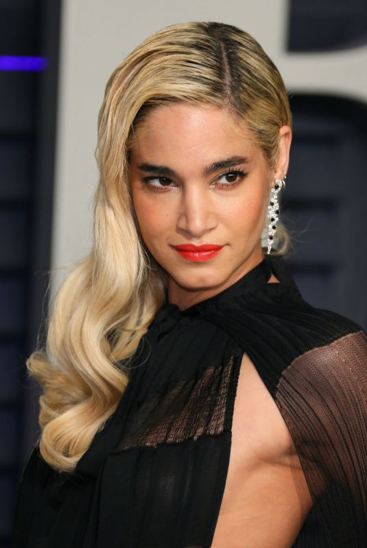 Sofia Boutella At 2019 Vanity Fair Oscar Party hosted by Radhika Jones at Wallis Annenberg Center for the Performing Arts in Beverly Hills