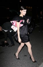 Sofia Carson Arriving at the Vanity Fair Party in LA