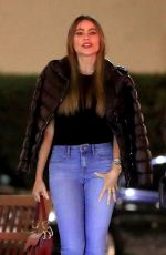 Sofía Vergara Out for dinner at Il Pastaio in Beverly Hills