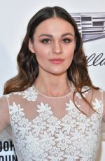 Sophie Skelton At Elton John AIDS Foundation Academy Awards Viewing Party in Hollywood
