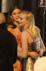 Sophie Turner & Hailee Steinfeld Outside Vanity Fair Oscar Party in LA