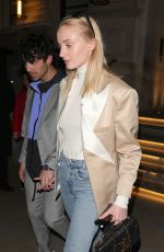 Sophie Turner Out for a evening at The Arts Club in London