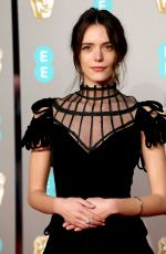 Stacy Martin At 72nd British Academy Film Awards in London