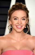 Sydney Sweeney At 2019 Vanity Fair Oscar Party hosted by Radhika Jones at Wallis Annenberg Center for the Performing Arts in Beverly Hills