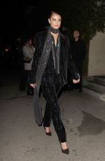 Taylor Hill Arrives for the Vanity Fair party in Los Angeles
