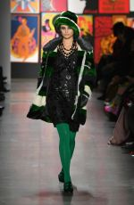 Taylor Hill At Anna Sui fashion show during NYFW: The Shows at Gallery I at Spring Studios