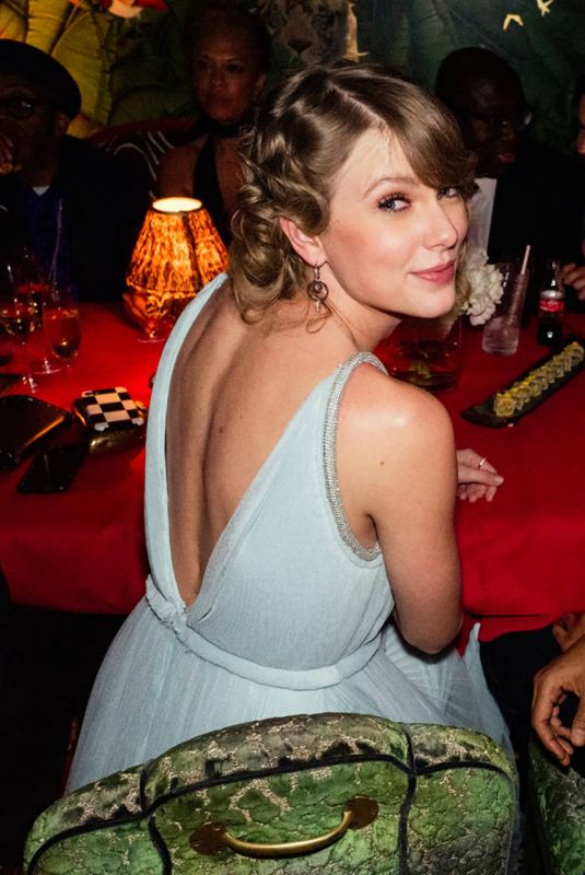 Taylor Swift At Vogue & Tiffany Fashion and Film Party in London