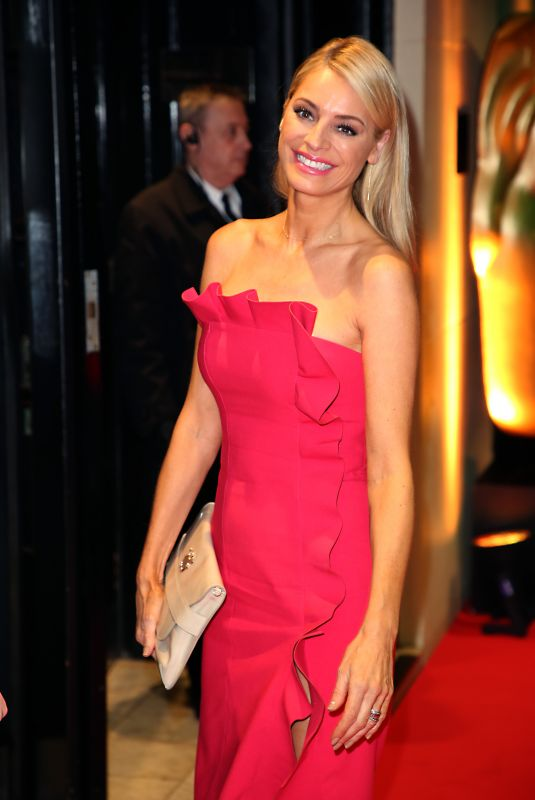 Tess Daly At 72nd British Academy Film Awards Gala, The Savoy, London
