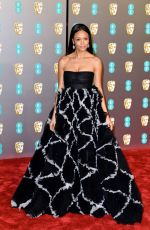 Thandie Newton At EE British Academy Film Awards in London