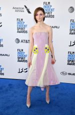 Thomasin McKenzie At Film Independent Spirit Awards in Los Angeles