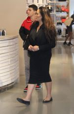 Tia Carrere is spotted shopping for activewear at Nike in Beverly Hills