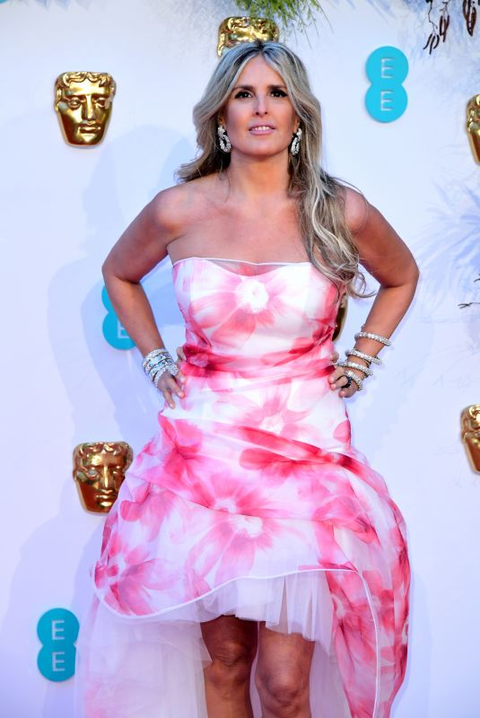 Tiziana Rocca At 72nd British Academy Film Awards in London