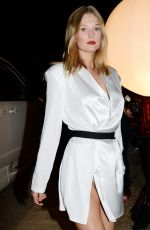Toni Garrn At WME Pre-Oscar Party at private residence in Los Angeles