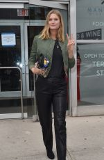 Toni Garrn Out in Soho New York