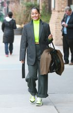 Tracee Ellis Ross Dons interesting ensemble in NY