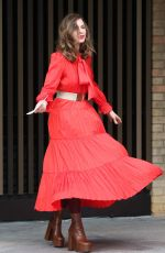 Trinny Woodall Outside ITV Studios in London