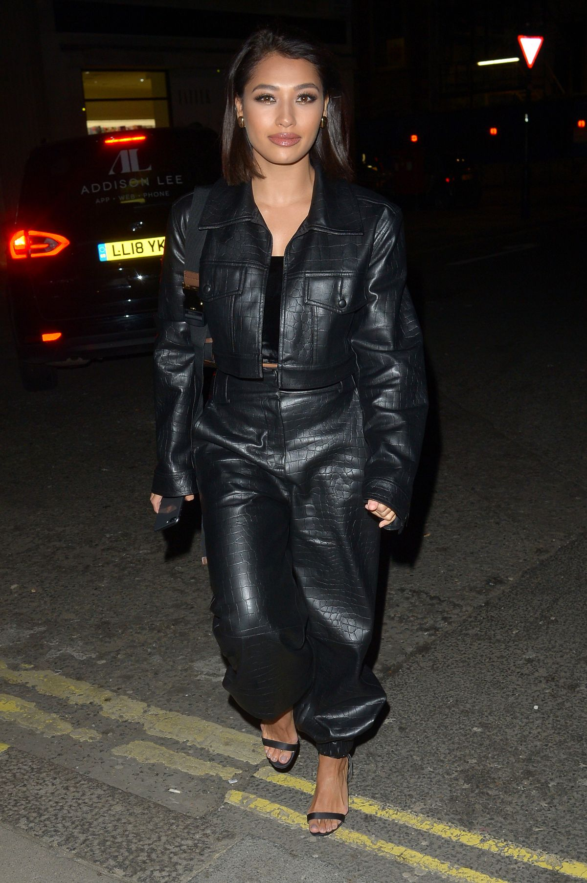 710d30f1f98 Vanessa White At LFW 2019 Christian Louboutin Party in Mayfair ...