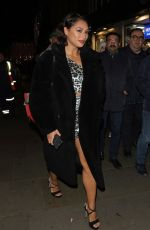 Vanessa White At Night Out Celebrating Her sisters Birthday At Disco 54 Club in London