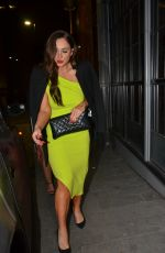 Vicky Pattison At Neighborhood Bar and Restaurant in Manchester