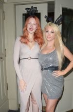 Victoria Clay and Jodie Weston at Mortons Mayfair in London
