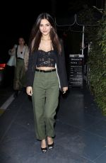 Victoria Justice Celebrating her birthday at ROKU Sunset in West Hollywood