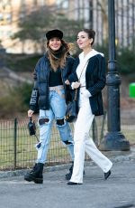 Victoria Justice Out in Central Park in New York City