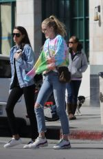 Abby Champion Joined by a friend for a shopping trip to Victoria
