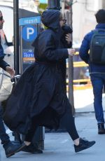 Adele Heads to a recording studio in New York
