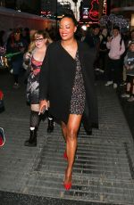 Aisha Tyler & Kirsten Vangsness Outside the premiere of