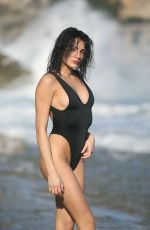 Alessia Veneziano At the beach in Italy