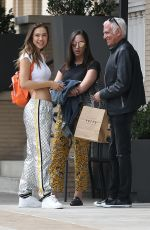 Alexis Ren Outside Barneys after getting some shopping done in Beverly Hills