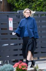 Alice Eve Out for dinner in LA